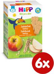 HiPP BIO Detské jablčné keksy 6 x 150 g