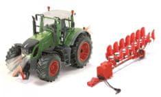 SIKU model Traktor Fendt 939 Control, omejena izdaja + obračalni plug, 1:32