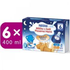 Nestlé Mlíčko s kaší Sušenkové - 6 x (2x200ml)