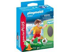 Playmobil nogometaš z golom (70157)