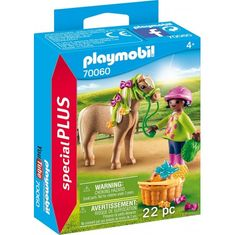Playmobil deklica s ponijem (70060)