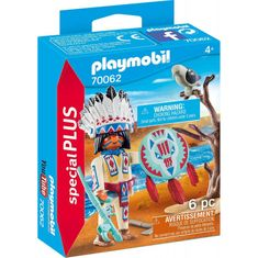 Playmobil Indijanec poglavar (70062)
