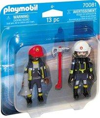 Playmobil reševalni dvojec gasilcev (70081)