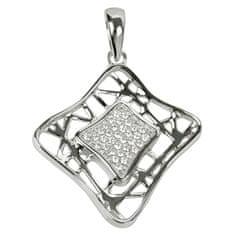 Srebra zawieszki z kryształami SC017 srebro 925/1000