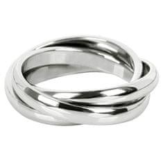 Troli Trojitý ocelový prsten KRS-247 (Obvod 49 mm)