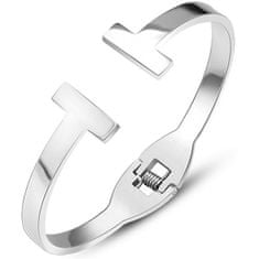 Troli bransoleta ze stali luksusowy dla kobiet