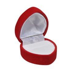 Jan KOS Darilna škatlica za prstan Heart F-222 / A7