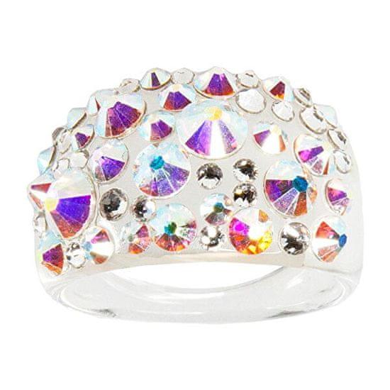 Troli Prsteň Bubble Crystal AB
