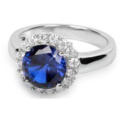 Silver Cat Stříbrný prsten s krystaly SC022 (Obvod 58 mm) stříbro 925/1000