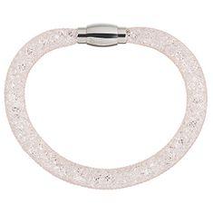 Preciosa Błyszczące bransoletki Scarlette blada aksamitny 7251 49