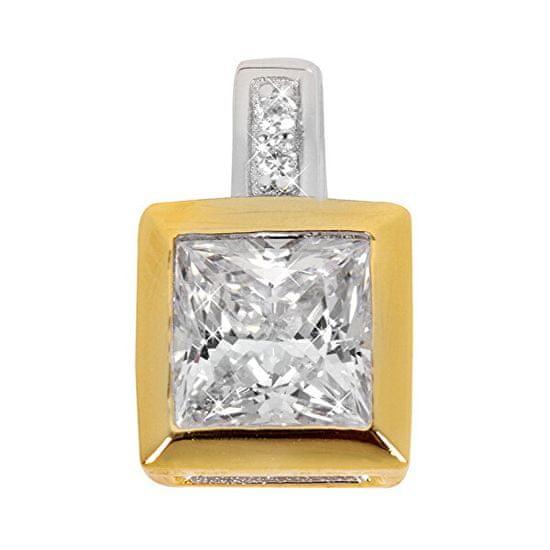 Silver Cat Srebrn obesek s kristali SC167 srebro 925/1000