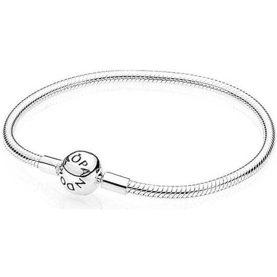 Pandora Elegantný strieborný náramok 590728
