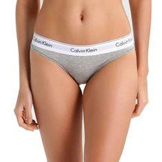 Calvin Klein Ženske tangice F3786E-020 (Velikost L)