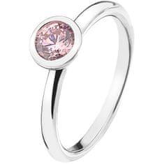 Hot Diamonds Stříbrný prsten Emozioni Scintilla Pink Compassion ER017 (Obvod 54 mm) stříbro 925/1000