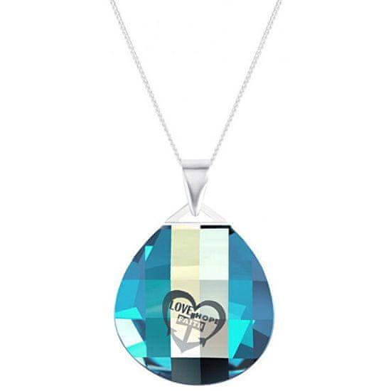 Preciosa Lovella kristály nyaklánc 51 6067(lánc, medál) ezüst 925/1000