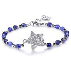 Brosway Jeklena zapestnica z zvezdo in sodra Chakra BHK113