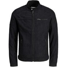 Jack&Jones Moška jakna JJEROCKY 12147218 Jet Black (Velikost XL)