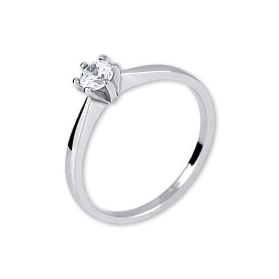 Brilio Silver Srebrni zaročni prstan 426 001 00501 04 srebro 925/1000
