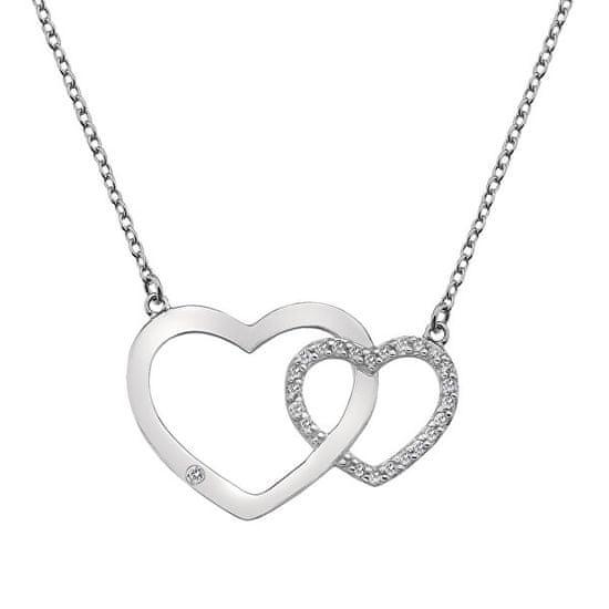 Hot Diamonds Love DN128 srebro 925/1000