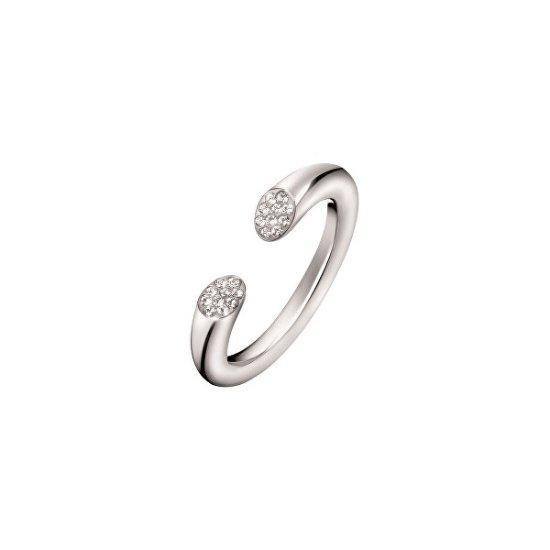 Calvin Klein Nyitott gyűrű kristályokkalBrilliant KJ8YMR0401