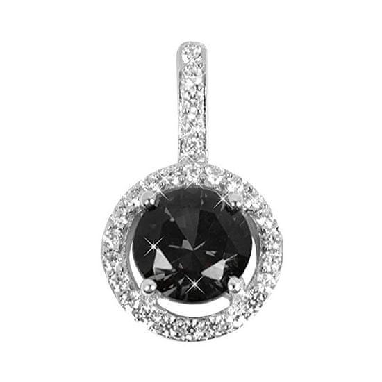 Silver Cat Srebrn obesek s kristali SC164 srebro 925/1000