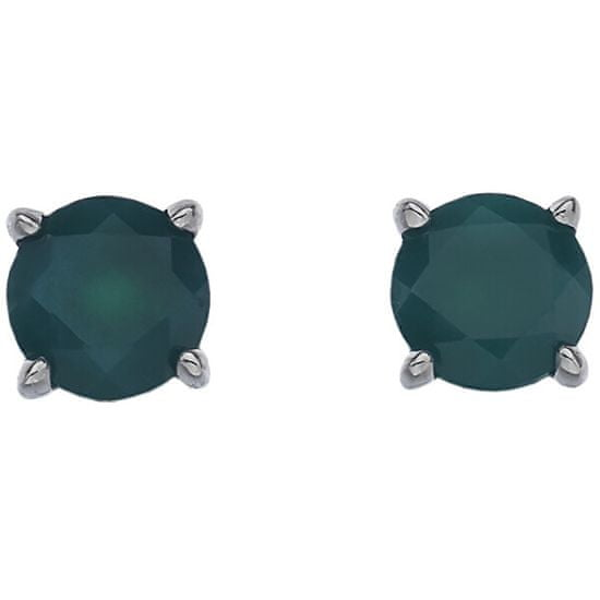 Hot Diamonds Srebrni uhani Hot Diamonds Anais Agate AE005