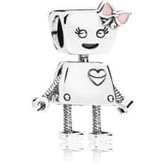 Pandora Srebrny wisiorek Robotka Bella 797141EN160