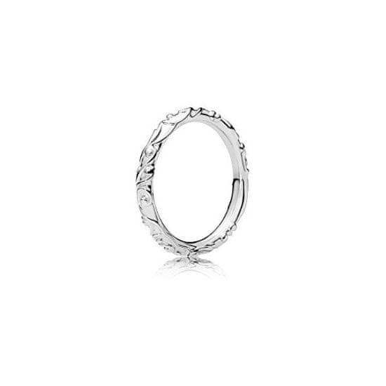 Pandora Stylový stříbrný prsten 197690 stříbro 925/1000