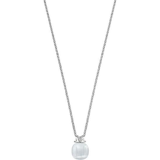 Morellato Srebrna ogrlica Gemma SAKK55 (veriga, obesek) srebro 925/1000