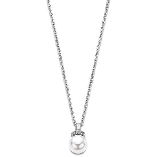 Lotus Style Stylowy naszyjnik z perłą LS2021-1 / 1