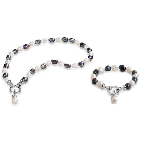 JwL Luxury Pearls Zvýhodněná souprava šperků JL0316 a JL0317