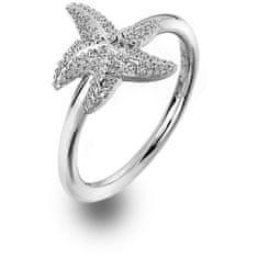Hot Diamonds Luxusní stříbrný prsten s pravým diamantem Daisy DR213 (Obvod 59 mm) stříbro 925/1000