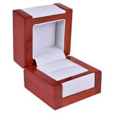 Jan KOS Lahka lesena škatla za prstan DN-2 / A1