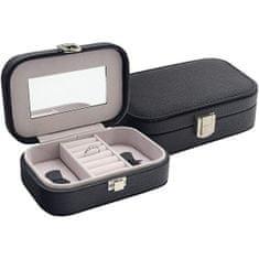 Jan KOS Črna škatla za nakit SP-487 / A25