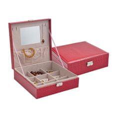Jan KOS Rdeča škatla za nakit SP-825 / A4