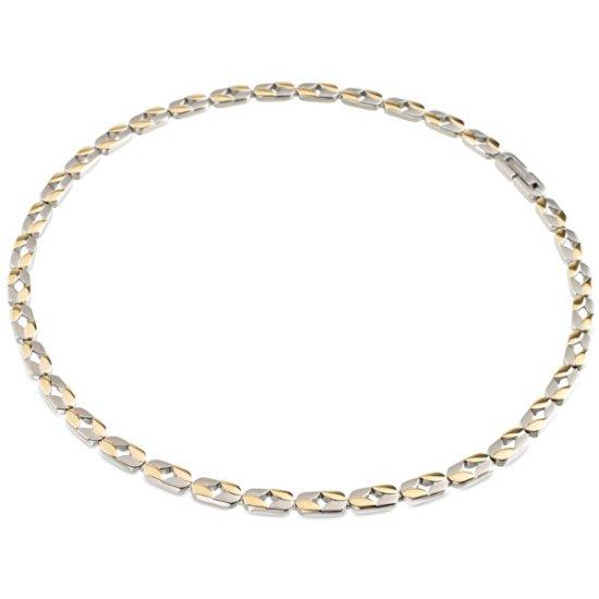 Boccia Titanium Bicolor Titanium Necklace 08019-02