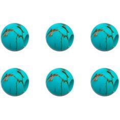 Brosway Zestaw do zawieszania 6 sztuk - Turquoise Très Jolie BTJU31