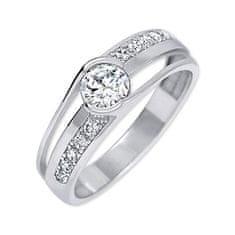 Moderní stříbrný prsten 426 001 00503 04 (Obvod 55 mm) stříbro 925/1000