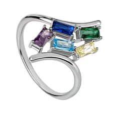 Silver Cat Módní prsten se zirkony SC351 (Obvod 54 mm) stříbro 925/1000