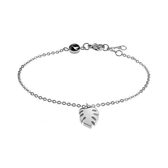 Emily Westwood Stal bransoletka z liściem palmowym WB1023S