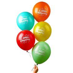 """Kraftika Balón 12 """"všechno nejlepší k narozeninám"""", hvězdy"""