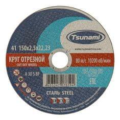 Tsunami Kovový řez kruh a 30 s bf l, 150 x 22 x 2,5 mm