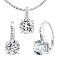 Silvego Stříbrný set šperků Verity LPS1335ES (náušnice, přívěsek) stříbro 925/1000