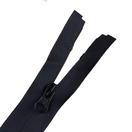 """Gamma 10 ks, skrytý zip """"spirála"""", odnímatelný, 70 cm"""