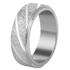 Troli Jekleni poročni prstan srebrn / svetleč (Obseg 64 mm)