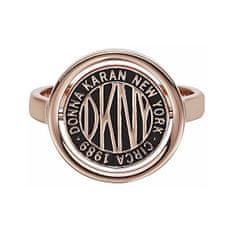 DKNY Štýlový prsteň s logom Token New York 5520040 (Obvod 52 mm)
