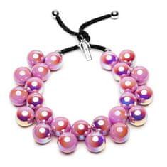 Ballsmania Originálne dúhový náhrdelník C206SUP-CAN Candy