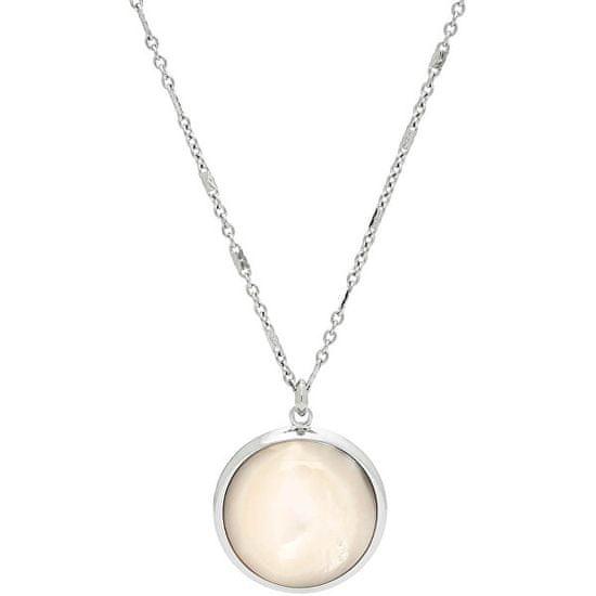 Fossil Krásný ocelový náhrdelník JF02915040
