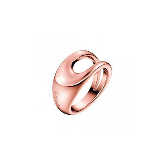 Calvin Klein Luxus bronz gyűrű Shade KJ3YPR10010