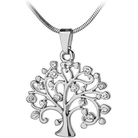 JVD Srebrowisiorek z cyrkoniami Tree of Life SVLP0595XH2BI00 srebro 925/1000
